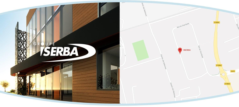 Plan du Groupe ISERBA