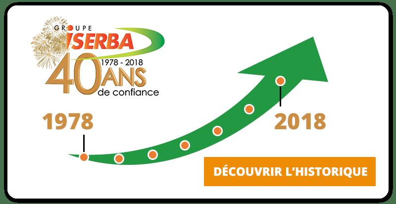 Groupe Iserba : 40 ans